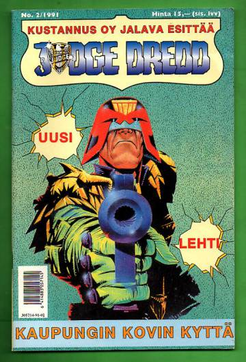 Judge Dredd 2/91