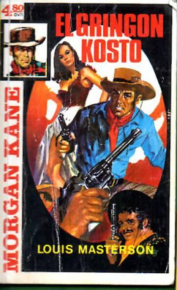 Morgan Kane 39 - El Gringon kosto