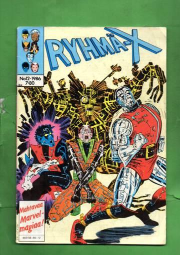 Ryhmä-X 12/86 (X-men)