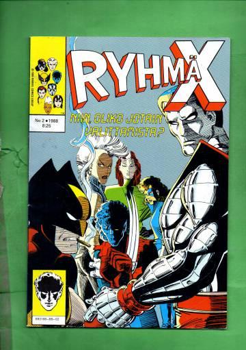 Ryhmä-X 2/88 (X-Men)