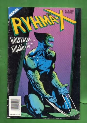 Ryhmä-X 6/91 (X-Men)