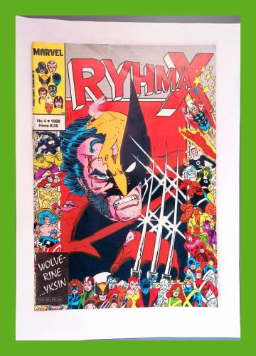 Ryhmä-X 4/88 (X-Men)