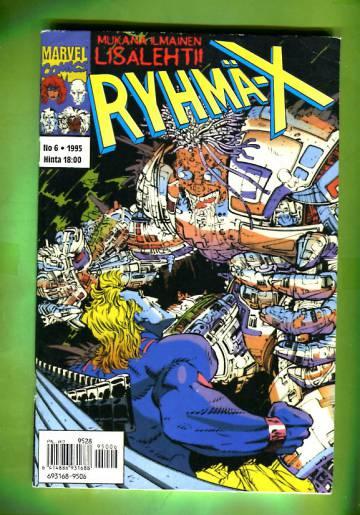 Ryhmä-X 6/95 (X-Men)
