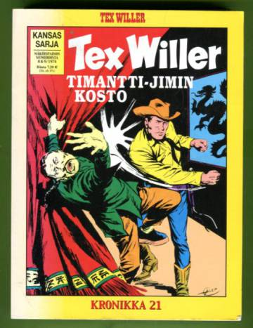 Tex Willer -kronikka 21 - Timantti-Jimin kosto & Taistelu merellä
