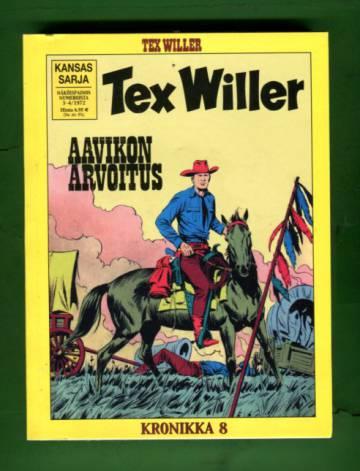 Tex Willer -kronikka 8 - Aavikon arvoitus & Rajua peliä Laredossa
