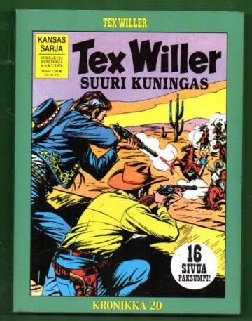 Tex Willer -kronikka 20 - Helvetti Robber Cityssä & Suuri kuningas