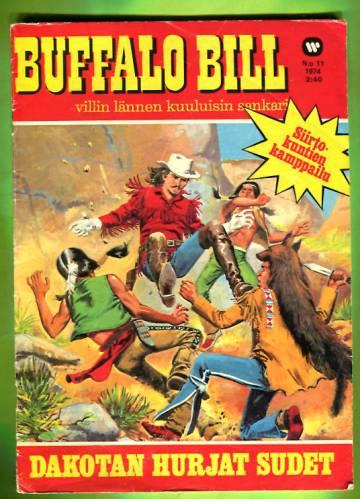 Buffalo Bill 11/74 - Dakotan hurjat sudet