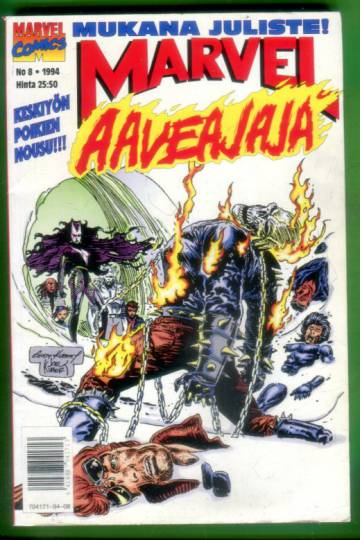 Marvel 8/94 - Aaveajaja + Juliste
