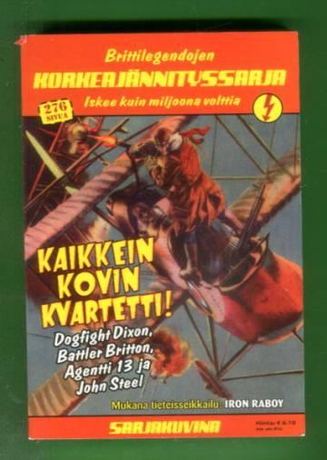 Korkeajännitys 3E/07 - Brittilegendojen Korkeajännityssarja: Kaikkein kovin kvartetti!