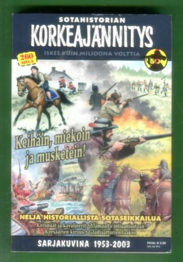 Korkeajännitys 2B/03 - Sotahistorian Korkeajännitys: Keihäin, miekoin ja musketein!