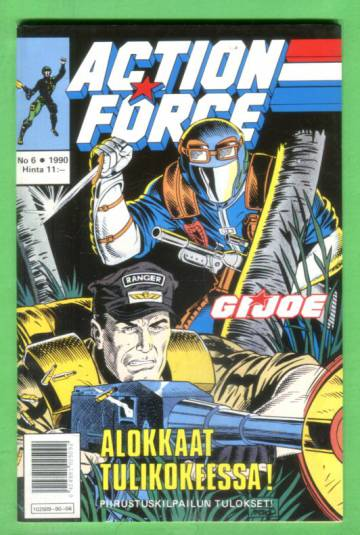 Action Force 6/90