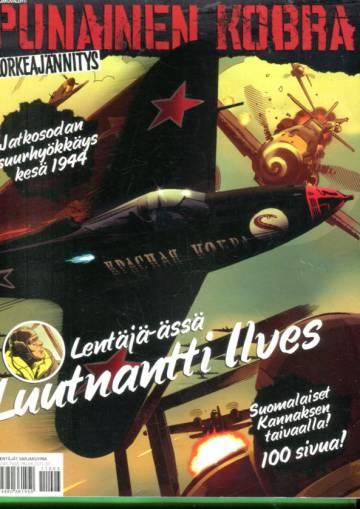 Ilta-Sanomat - Punainen kobra: Sarjakuvalehti jatkosodan kesästä 1944