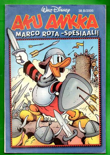 Aku Ankka 38B/05 - Marco Rota -spesiaali!