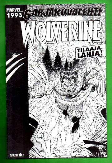 Sarjakuvalehti tilaajalahja 1993 - Wolverine