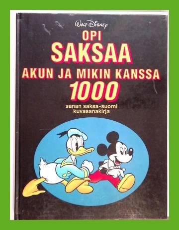Opi Saksaa Akun ja Mikin kanssa - 1000 sanan saksa-suomi-kuvasanakirja