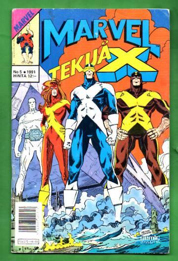 Marvel 5/91 - Tekijä-X