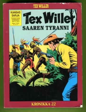 Tex Willer -kronikka 22 - Saaren tyranni & Coloradon rajoilla
