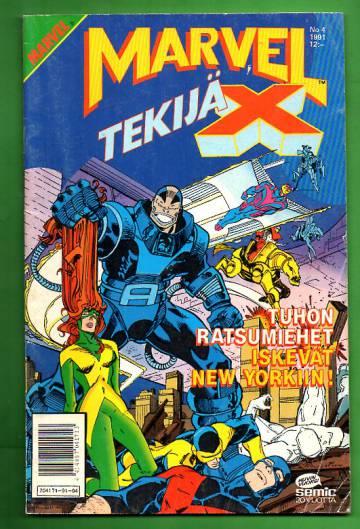 Marvel 4/91 - Tekijä-X