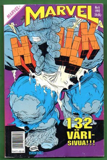Marvel 6/92 - Hulk
