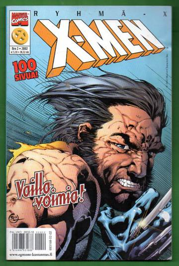 X-Men 2/02 (Ryhmä-X)