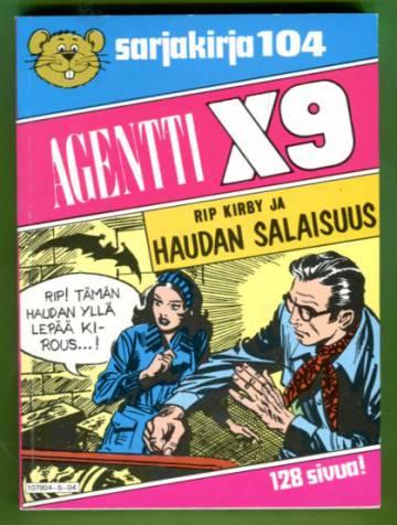 Semicin sarjakirja 104 - Agentti X9