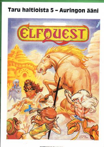 Elfquest - taru haltioista 5 - Auringon ääni