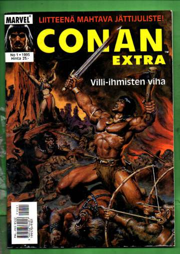 Conan-extra 1/95 - Villi-ihmisten viha