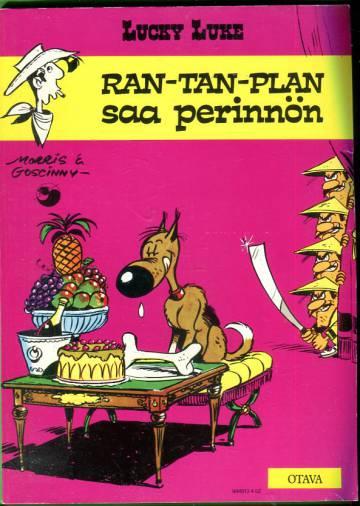 Lucky Luke 15 - Ran-Tan-Plan saa perinnön
