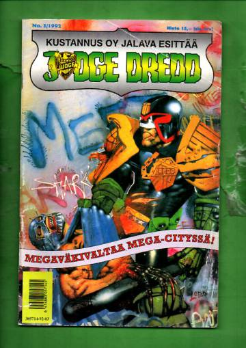 Judge Dredd 3/92
