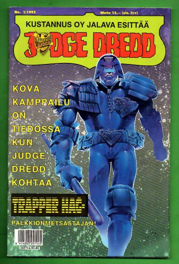 Judge Dredd 1/92