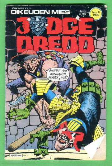 Judge Dredd 8/85