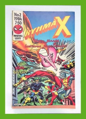 Ryhmä-X 2/84 (X-Men)