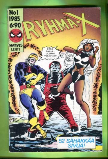 Ryhmä-X 1/85 (X-Men)