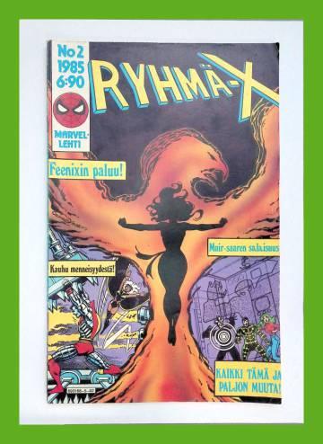 Ryhmä-X 2/85 (X-Men)