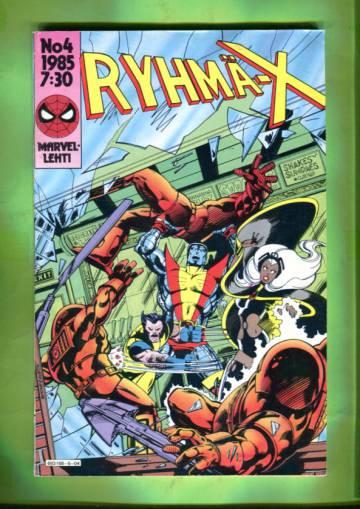Ryhmä-X 4/85 (X-Men)