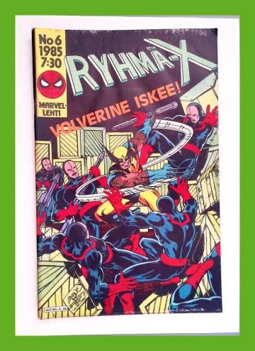 Ryhmä-X 6/85 (X-Men)