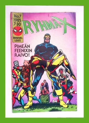 Ryhmä-X 7/85 (X-Men)