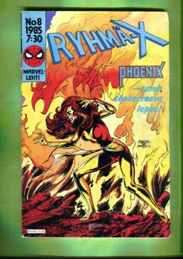 Ryhmä-X 8/85 (X-Men)