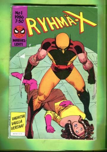 Ryhmä-X 1/86 (X-Men)