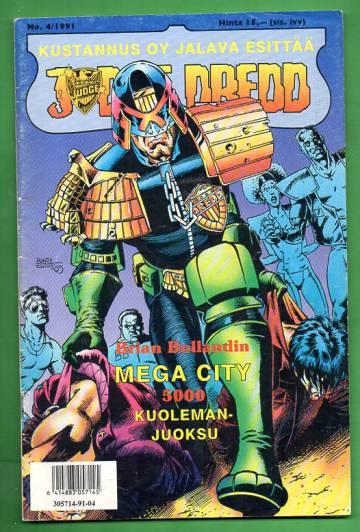 Judge Dredd 4/91