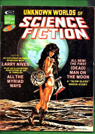 Unknown Worlds of Science Fiction Vol 1 #5 Sep 75