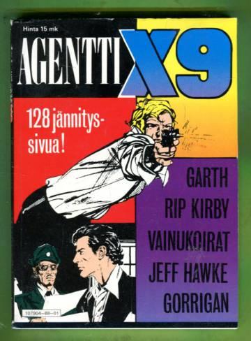 Agentti X9 -pokkari 1/88