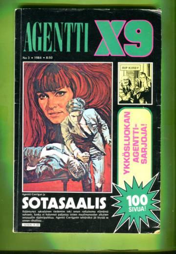 Agentti X9 3/84