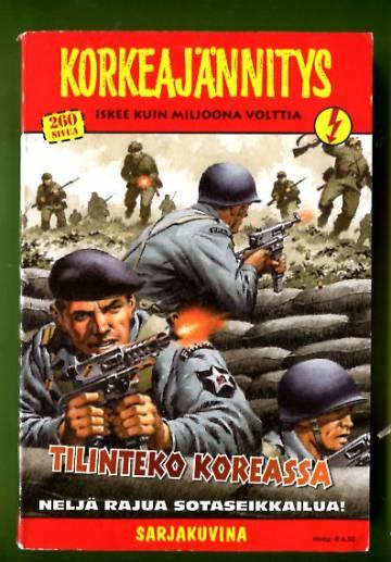 Korkeajännitys 8/06 - Tilinteko Koreassa