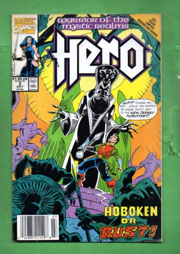 Hero Vol. 1 #3 Jul 90