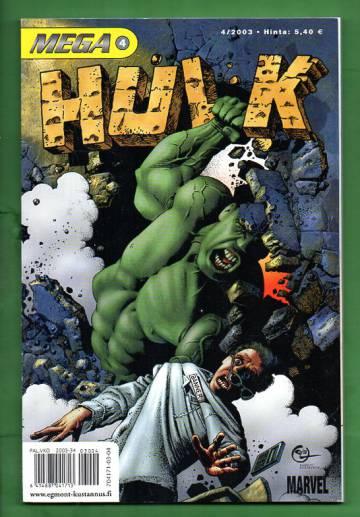 Mega 4/03 - Hulk (Mega-Marvel)