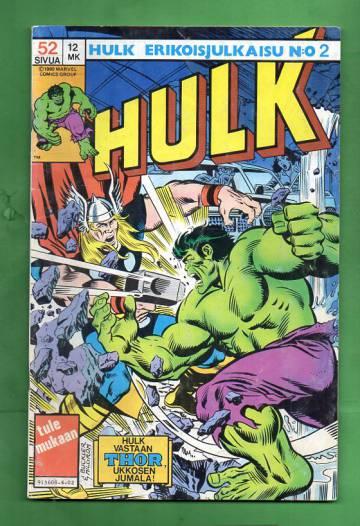 Hulk-erikoisjulkaisu 2/84