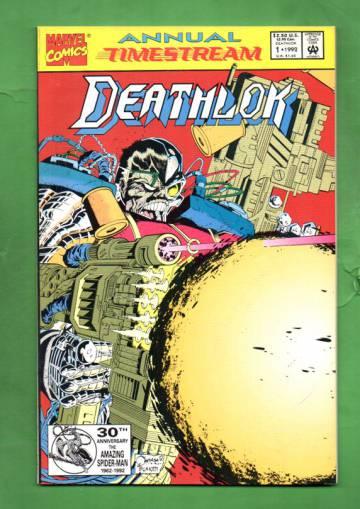 Deathlok Annual Vol. 1 #1 Aug 92