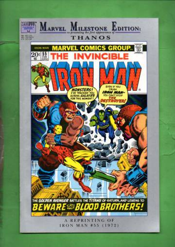 Marvel Milestone Edition: Iron Man Vol. 1 #55 Nov 92