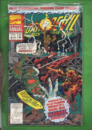 Daredevil Annual Vol. 1 #9 93 (avaamaton pakkaus, sisältää kortit)